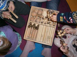 Instrumente für die Kitas