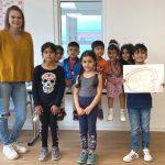 Hilfe für den Schulstart von Kindern aus der Landesaufnahmestelle